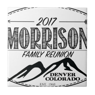2017 Morrison Reunion Items - LIGHT background Tile