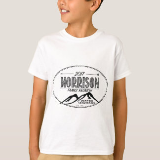 2017 Morrison Reunion Shirts - Light Colors