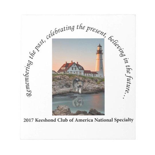 2017 National Logo Option #1 Notepad