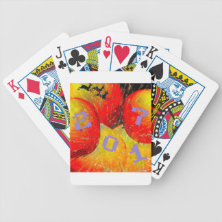 2017 New Year. Bicycle Playing Cards