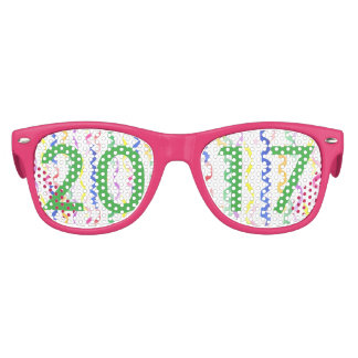 2017 New Year Party Streamers Kids Sunglasses