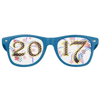 2017 New Years Eve Party Unique Retro Sunglasses