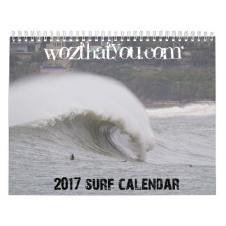 2017 Northern Beaches Surf Calendar - US version