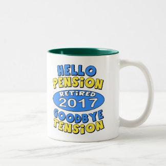 2017 Retirement Two-Tone Coffee Mug