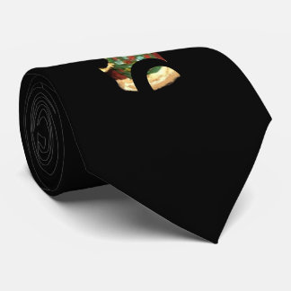 2017 SANTA WITH TREE COLLECTOR CHRISTMAS TIE