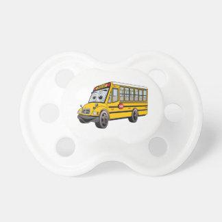 2017 School Bus Cartoon Pacifier