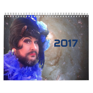 2017 Science Fiction Non Binary Gay Drag Calendar