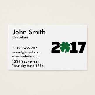 2017_shamrock business card