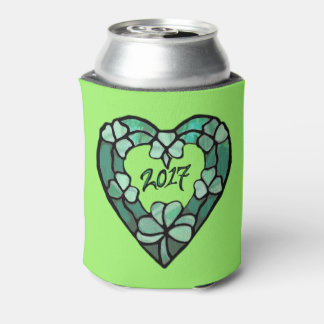2017 Shamrock Heart Can Coozie