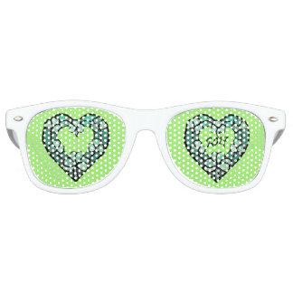 2017 Shamrock Heart Fun Glasses
