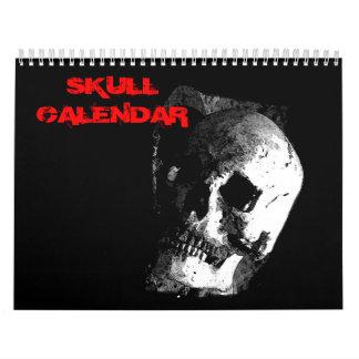 2017 Skull Wall Calendar