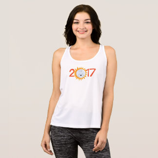 2017 Smiley Emoji Moon Total Solar Eclipse Tank