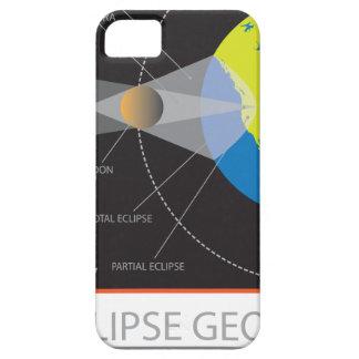 2017 Solar Eclipse Geometry Across Nebraska Cities iPhone 5 Covers