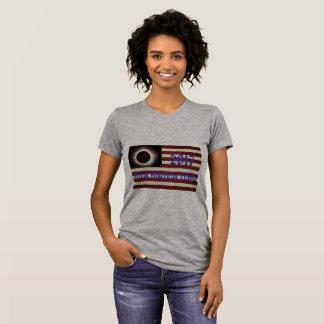 2017 Solar Eclipse Over America T-Shirt