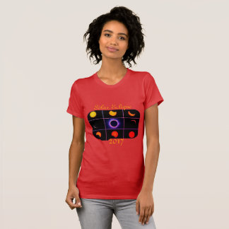 2017 Solar Eclipse Phases T-Shirt