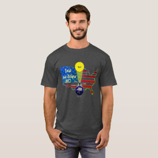 2017 Solar Eclipse Planet Position T-Shirt