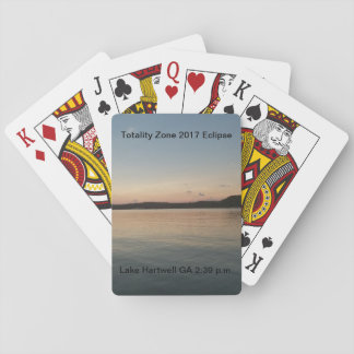 2017 Solar Eclipse Playing Cards