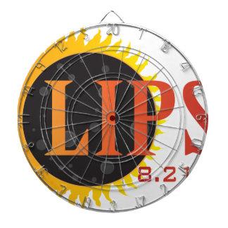 2017 Solar Eclipse Text Abstract Illustration Dartboard
