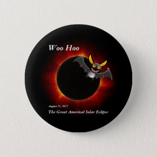 2017 Solar Eclipse, Vampire Edition 2 Inch Round Button