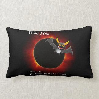 2017 Solar Eclipse, Vampire Edition Lumbar Pillow