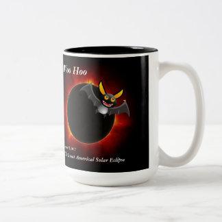 2017 Solar Eclipse, Vampire Edition Two-Tone Coffee Mug