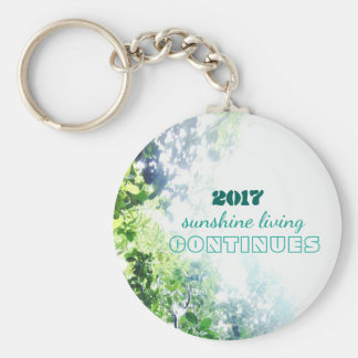 2017-sunshine living continues keychain