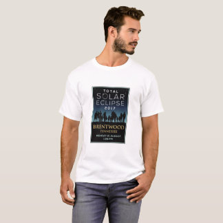 2017 Total Solar Eclipse - Brentwood, TN T-Shirt