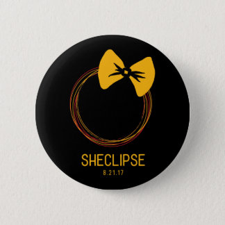 2017 Total Solar Eclipse Button - For Her