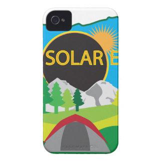2017 Total Solar Eclipse Camping Trip Map Case-Mate iPhone 4 Case