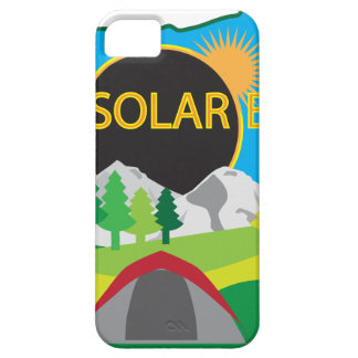 2017 Total Solar Eclipse Camping Trip Map iPhone 5 Cover