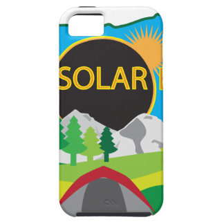 2017 Total Solar Eclipse Camping Trip Map iPhone 5 Covers