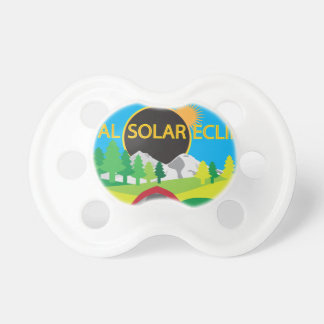 2017 Total Solar Eclipse Camping Trip Map Pacifier