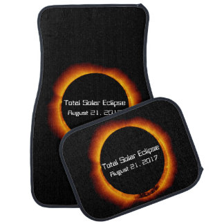 2017 Total Solar Eclipse Car Mat
