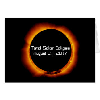 2017 Total Solar Eclipse Card