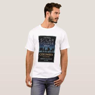 2017 Total Solar Eclipse - Columbia, IL T-Shirt