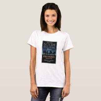 2017 Total Solar Eclipse - Des Peres, MO T-Shirt