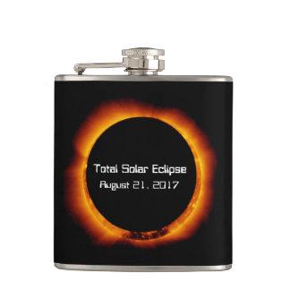 2017 Total Solar Eclipse Hip Flask