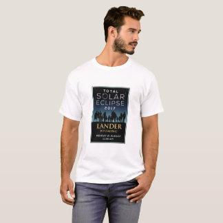 2017 Total Solar Eclipse - Lander, WY T-Shirt