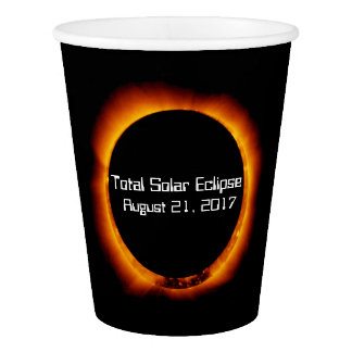 2017 Total Solar Eclipse Paper Cup