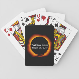 2017 Total Solar Eclipse Playing Cards