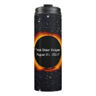 2017 Total Solar Eclipse Thermal Tumbler