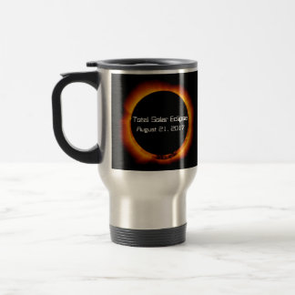 2017 Total Solar Eclipse Travel Mug