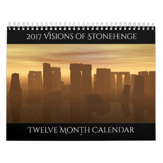 2017 Visions of Stonehenge Calendar