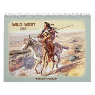 2017 Wild West Calendar