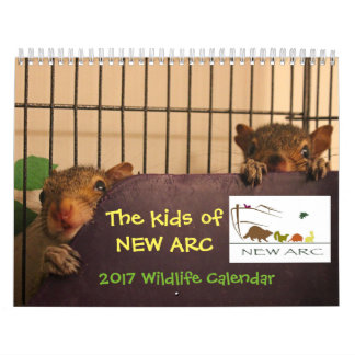 2017 Wildlife Babies Calendar