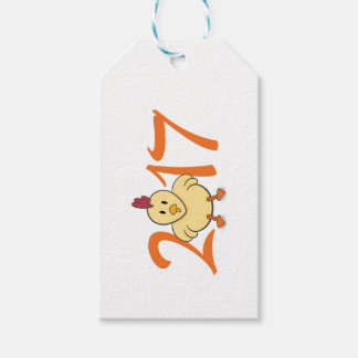 2017 Year of the Rooster Pack Of Gift Tags