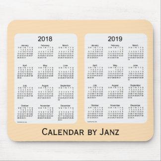 2018-2019 Wheat Calendar by Janz Mousepad