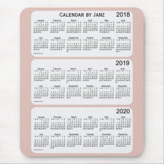 2018-2020 Thistle Calendar by Janz Mouse Pad
