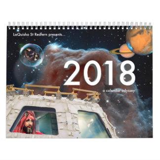 2018 a Calendar Odyssey