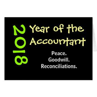 2018 Accountant Funny Slogan Add Caption Card